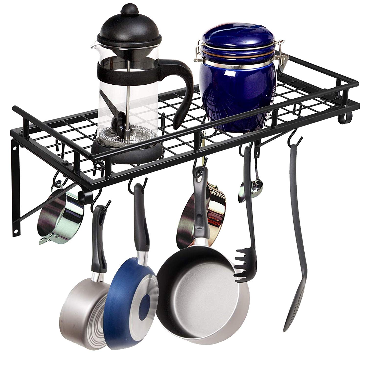 cheap pot and pan storage rack find