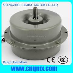 Kitchen Exhaust Fan Motor Small Cabinets Hood Range Fans