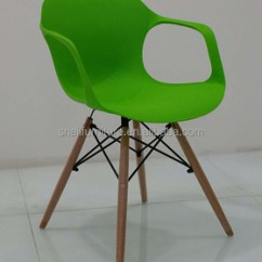 Plastic Chairs With Stainless Steel Legs Chair That Converts To Single Bed Colorful Modern Pp Seat Beech Leg Frame Sn Pc 12
