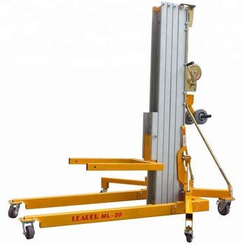 vertical material lifting platform