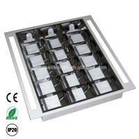 T8 Double Parabolic Recessed Led Louver Fitting - Buy ...
