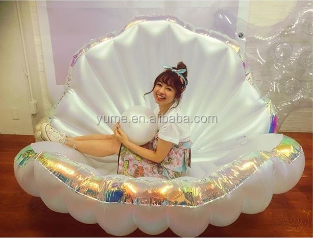 Clam Pool Float Shell Sea Pool Chair Float  Buy Swimming
