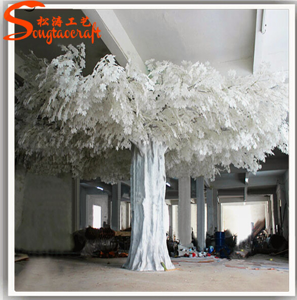 large artificial decorative tree