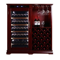 Shentop Stm-a250 Wood Wine Cooler Compressor Wine Chiller ...