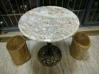 Round Granite Kitchen Table Tops,Round Granite Dining Room ...
