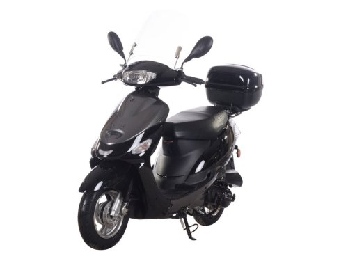 small resolution of get quotations icebear 49cc 50cc street legal moped scooter gas powered pmz50 4 black