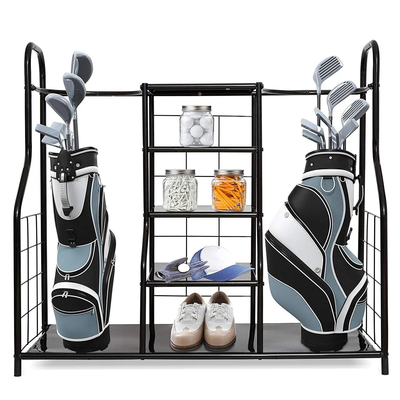 golf bag storage rack organizer for golf bag and accessories buy golf bag rack golf bag storage rack golf bag organizer product on alibaba com