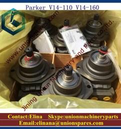 parker v14 110 hydraulic motor v14 160 hydraulic pump [ 1000 x 1000 Pixel ]