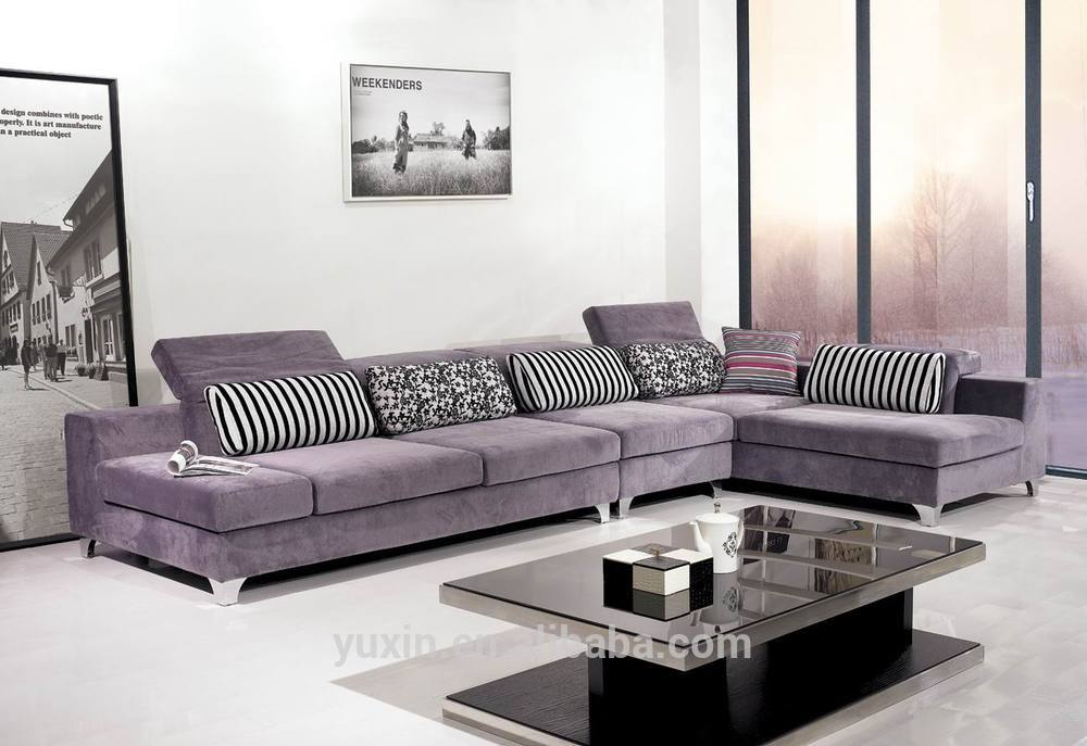 wooden sectional sofa with price large new arrival modern living room furniture/corner ...