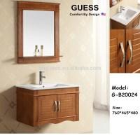 Waterproof Bathroom Cabinet,Solid Wood Bathroom Vanity,G ...