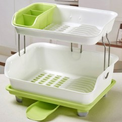 Kitchen Storage Racks Steamer New High Quality Utensil Drying For Bowls Cups Dishes Plastic Dish Rack