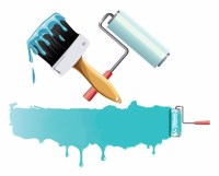 1 inch Wall Paint Brushes Paint Roller Design, View Paint