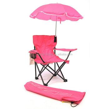 pink beach chair walmart armchair covers baby kids umbrella camp