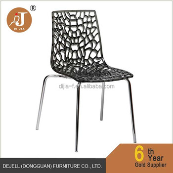 transparent polycarbonate chairs aluminum outdoor and tables modern crystal clear chair buy
