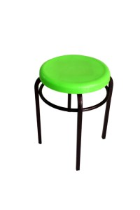 Cheap Furniture With Metal Frame Plastic Round Seat Chair ...