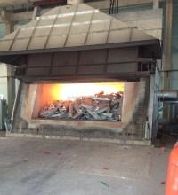 Gas Fired Rectangle Aluminum Ingot Industrial Melting ...