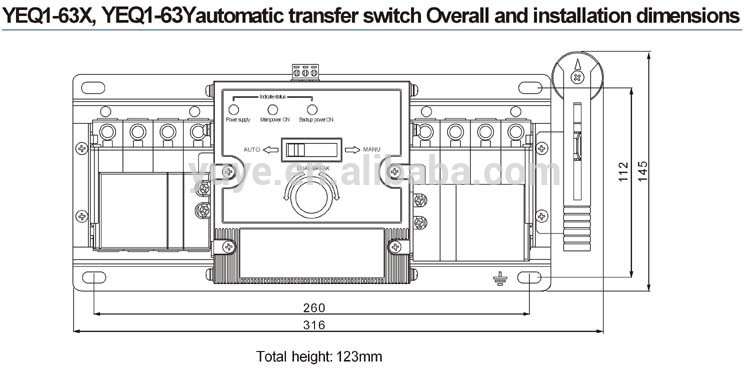 10 Circuit Transfer Switch Generac Wiring Diagram Yeq1 63 Automatic Transfer Switch In Circuit Breaker Auto