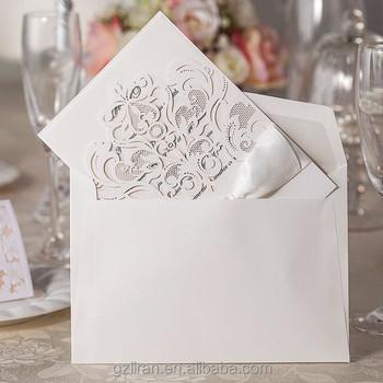 Guangzhou Liran Boutique Wedding Invitation Card Printing Laser Cut Ic