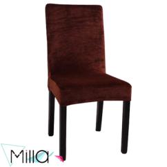 Dining Chair Covers Velvet Design Black Slipcover Stretch Cover For Armless Buy