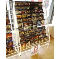 Practical Store Greeting Card Magazine Cd Dvd Display ...