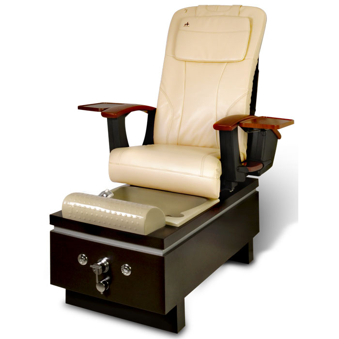 massage pedicure chair steel navy salon spa multi functional foot with tray