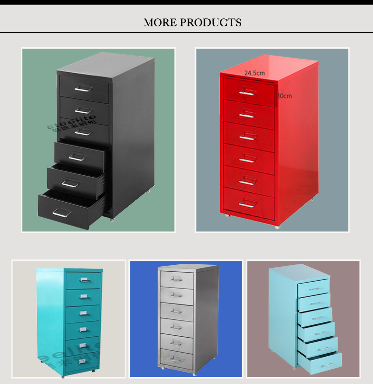 Many Small Plastic Drawer Spare Parts Cabinet Parts