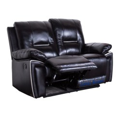Reclining Leather Sofas Rounded Rozel Adjustable Pure L Shape Recliner Sofa In Malaysia