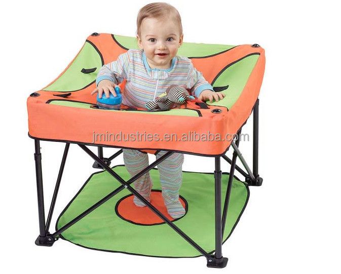 portable folding high chair hammock stand cheap 2015 new fashionable baby standing for camping play ...