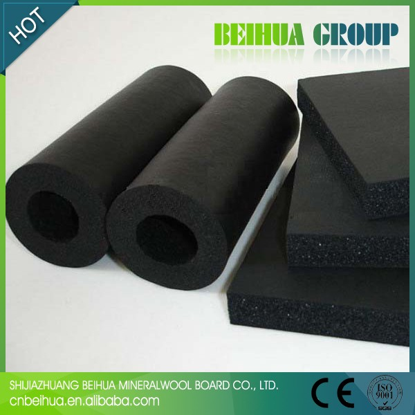 Thermal Insulation Material Rubber Plastic Foam Tubes For