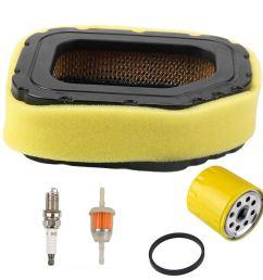 harbot air filter tune up kit for cub cadet lt1045 ltx1046 lt1050 gt1554 i1046 lt1046 i1050 [ 1000 x 1000 Pixel ]