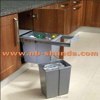 Kitchen Cabinet Drawer Slides Bins Kitchen Cabinet Pull ...
