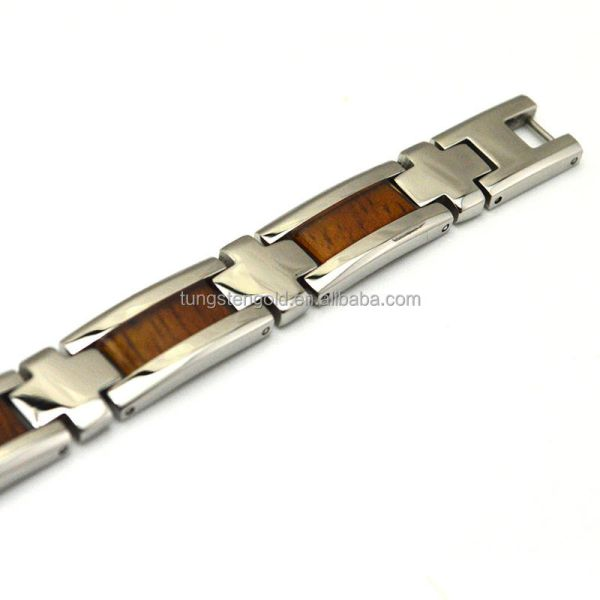 Fashion Wood Jewelry Nickel Free Engravable Koa Wood