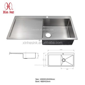 kitchen sinks with drainboard built in rugs for area deep sink cabinet buy