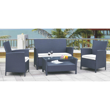 wicker sofa set philippines how to recover a chair 4 seat rattan harbo garden furniture bamboo and synthetic casablanca outdoor