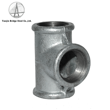 Black / Galvanized Malleable Cast Iron Pipe Fittings,Elbow