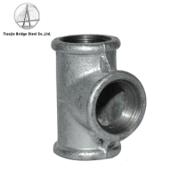 Black / Galvanized Malleable Cast Iron Pipe Fittings,Elbow ...