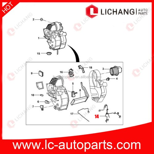small resolution of genuine auto parts for 7c19 18b518 ab ford transit front air conditioner wiring harness