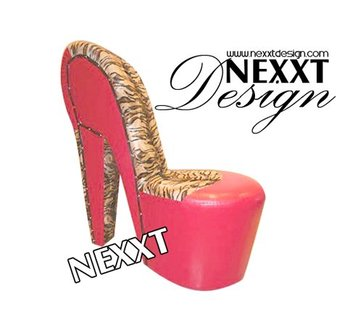 leopard high heel shoe chair chevalier chairs rentals shoes baroque red by nexxtdesign buy