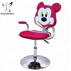 Kids Salon Chair Activity Desk And Set Kid Hair Dressing Barber Shop Cartoon For Children
