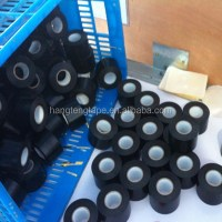 Black Color Pvc Pipe Tape For Gas Pipe Wrapping - Buy ...