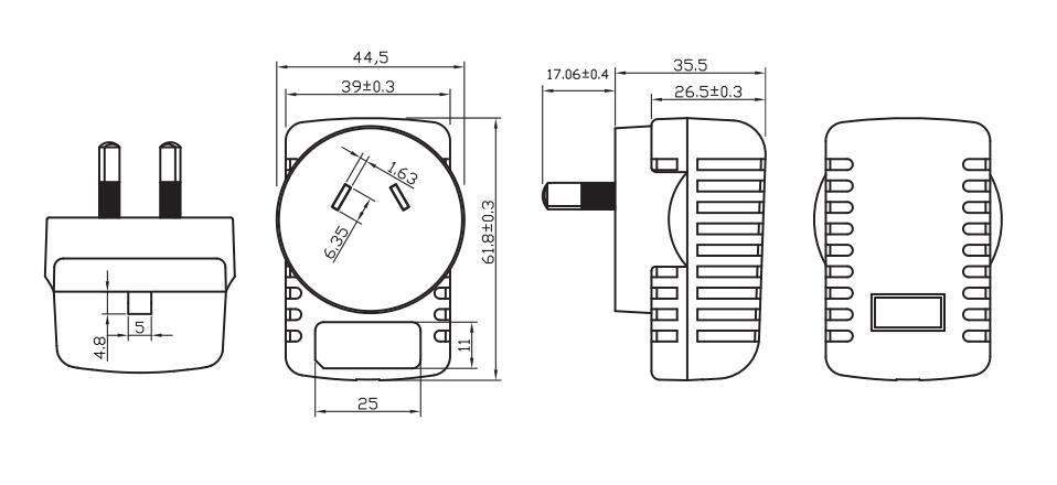 New Arrival 100-240v Ac/dc 3.7v 7.2v 1a 2a Power Adapter