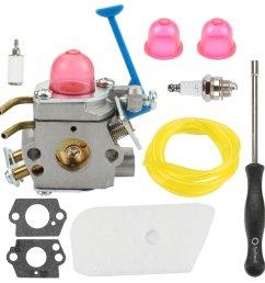 get quotations hilom c1q w40a carburetor carb with adjusting tool for 545081850 545081848 husqvarna 124l 125l 125ld [ 1000 x 1000 Pixel ]