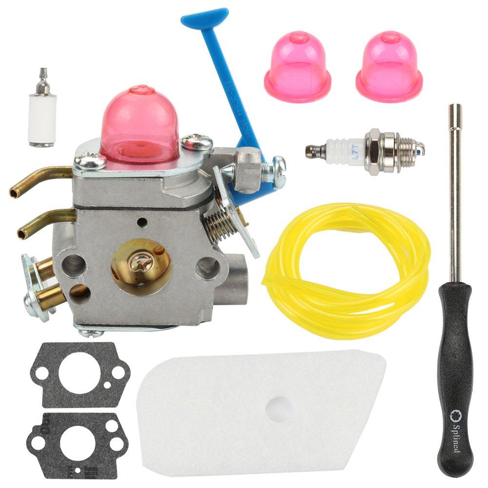 medium resolution of get quotations hilom c1q w40a carburetor carb with adjusting tool for 545081850 545081848 husqvarna 124l 125l 125ld