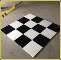 Classic Design Black & White Flooring Marble Tile,Home ...