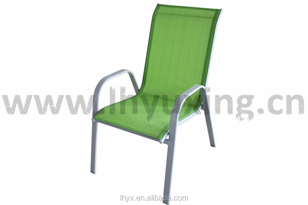 sling chairs for sale bowl chair ikea hot selling promotion steel garden stacking stackable patio