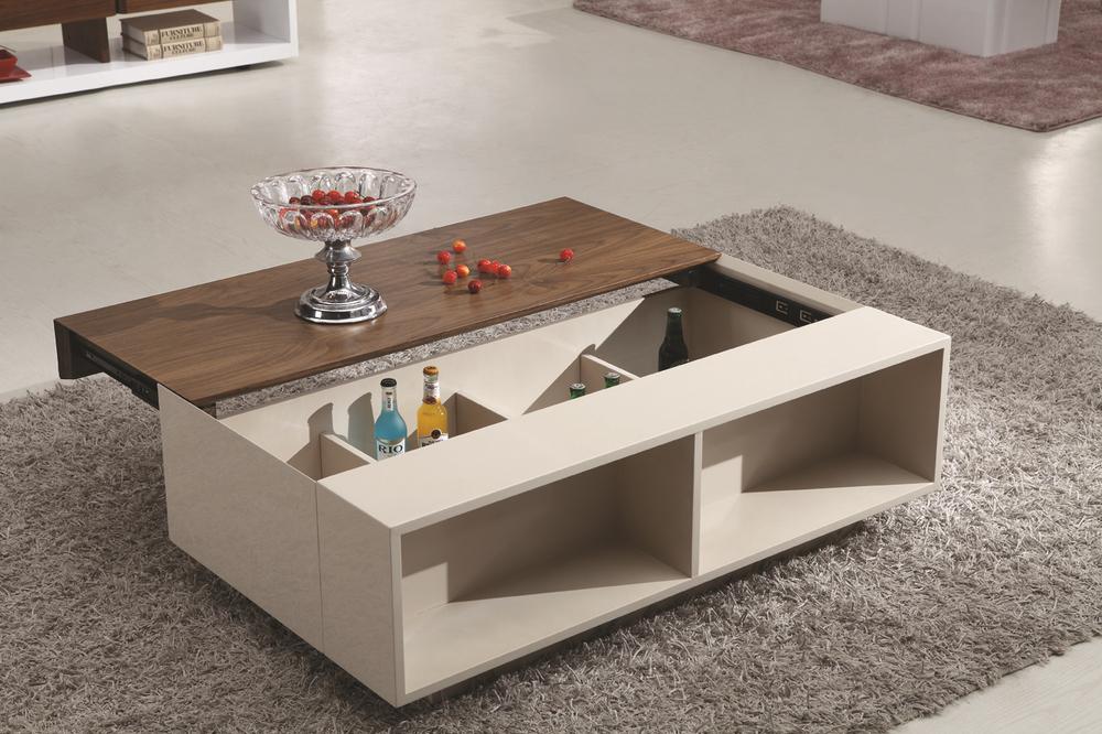 Large Coffee Table Ottoman Storage
