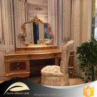 D226- Luxury European Bedroom Set Of Vanity Dresser With ...