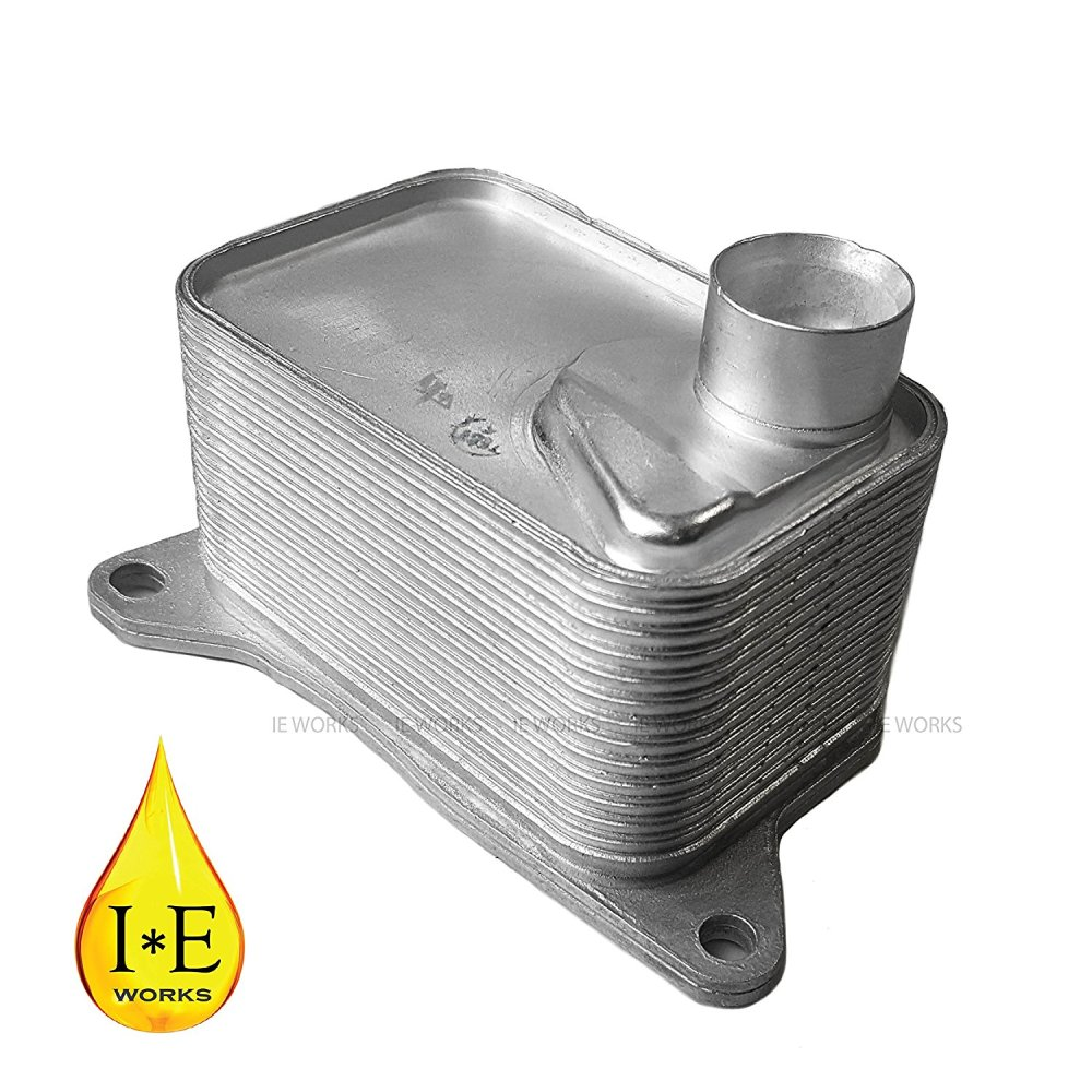 medium resolution of get quotations new engine oil cooler volkswagen golf gti golf r audi a3 a6 06l117021e 2015 2016 1 8