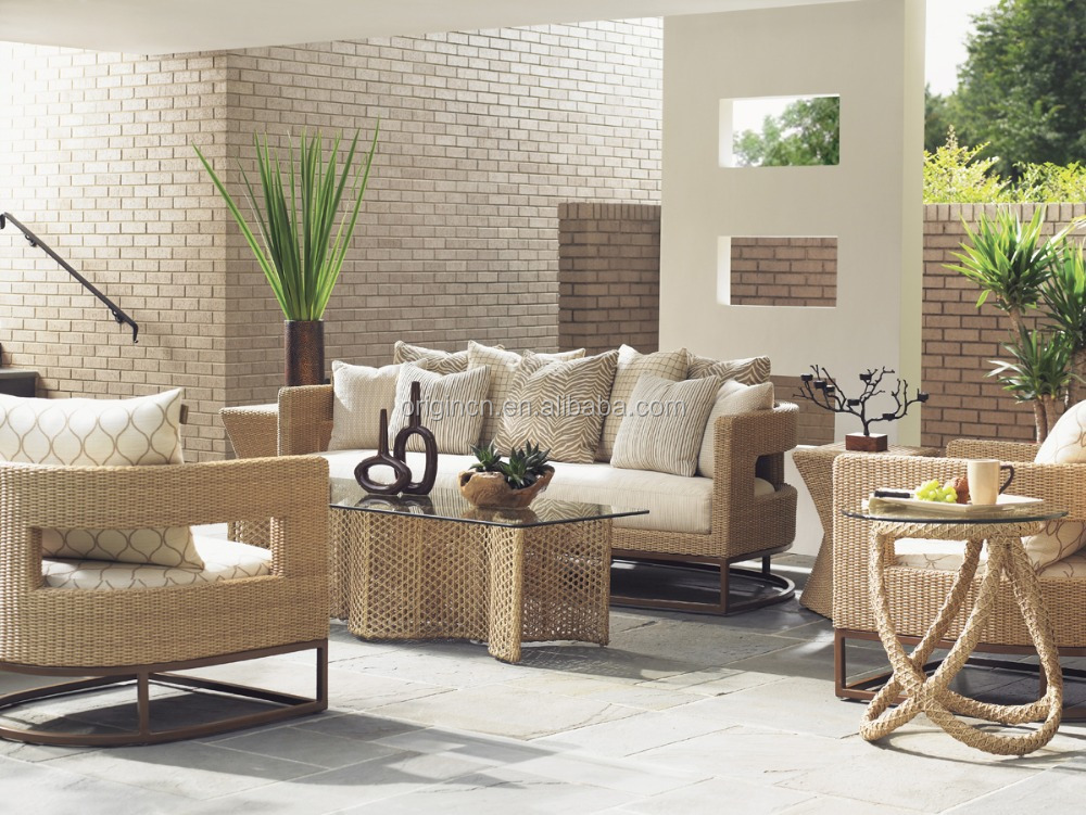 Rattan Sofa Philippines Designer Unique Style Synthetic Rattan Sofa Set With