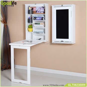 Kids Wall Mount Folding Wooden Study Table Designs